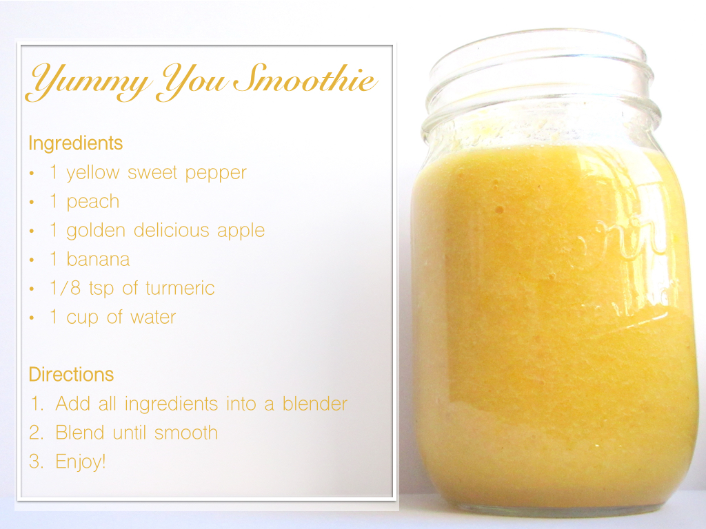 healthy fruit smoothies for weight loss yellow fruit